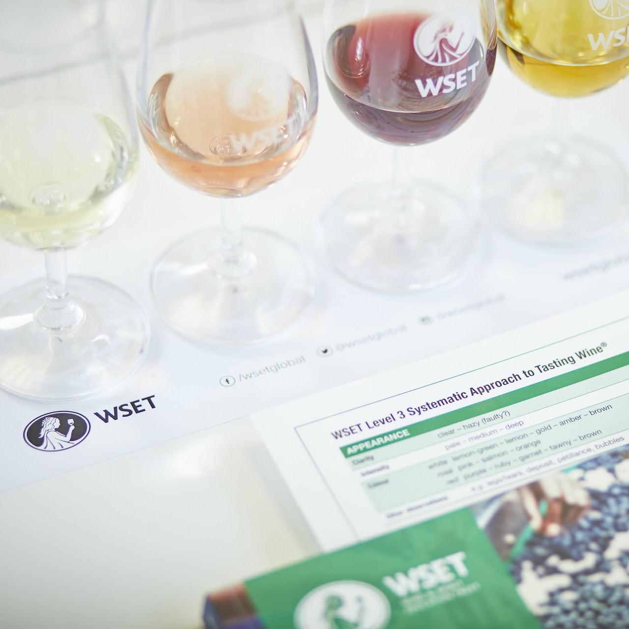 WSET online courses